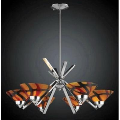 Elk Lighting 1475/6JAS Refraction - Six Light Chandelier