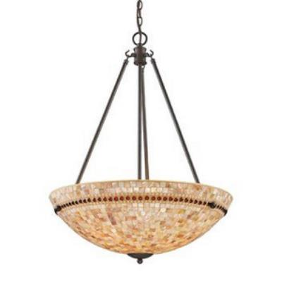 Elk Lighting 15014/4 Roxana - Four Light Pendant