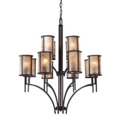 Elk Lighting 15036/8+4 Barringer - Twelve Light Chandelier