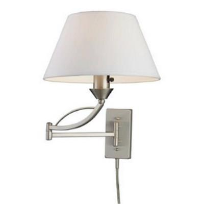 Elk Lighting 17016/1 Elysburg - One Light Swing Arm Wall Sconce
