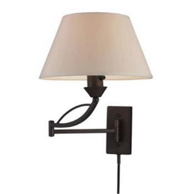 Elk Lighting 17026/1 Elysburg - One Light Swing Arm Wall Sconce