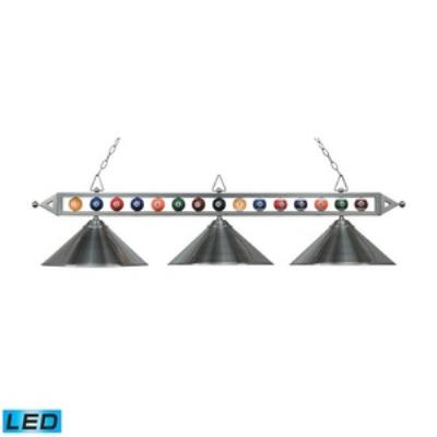Elk Lighting 190-1-SN-M-LED Designer Classics/Island - Three Light Island