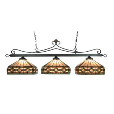 Elk Lighting 190-11-TB-T8-LED Three Light Island