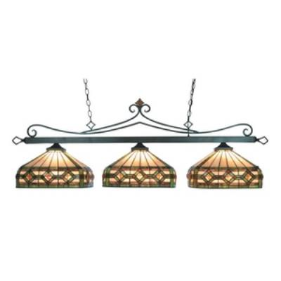 Elk Lighting 190-11-TB-T8 Three Light Island