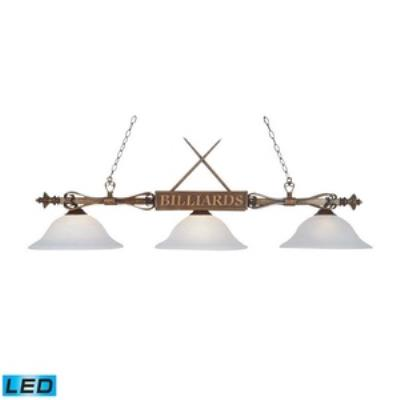 Elk Lighting 194-WD-G1-LED Designer Classics/Island - Three Light Island