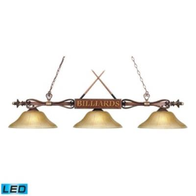 Elk Lighting 194-WD-G6-LED Designer Classics/Island - Three Light Island