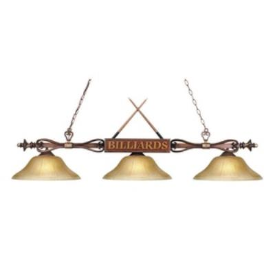 Elk Lighting 194-WD-G6 Designer Classics/Island - Three Light Island