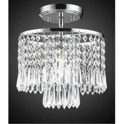 Elk Lighting 1991/1 Optix - One Light Semi Flush Mount