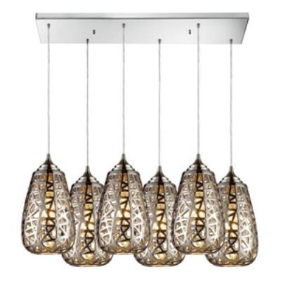 Elk Lighting 20064/6 Nestor - Six Light Pendant