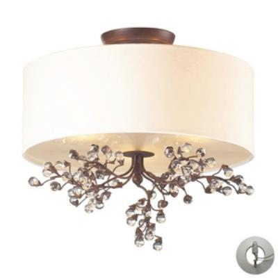 Elk Lighting 20089/3-LA Winterberry - Three Light Semi-Flush Mount