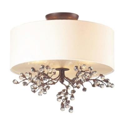 Elk Lighting 20089/3 Winterberry - Three Light Semi-Flush Mount