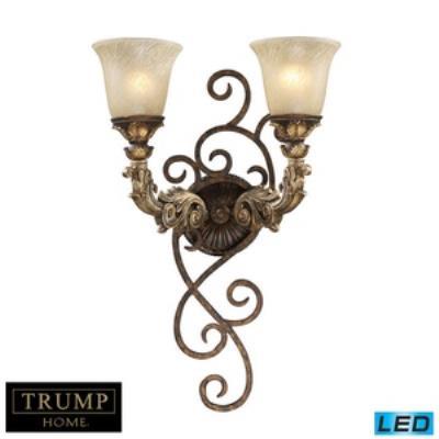 Elk Lighting 2155/2-LED Regency - Two Light Wall Sconce