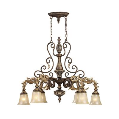 Elk Lighting 2161/6 Regency - Six Light Chandelier