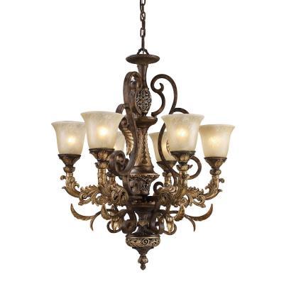 Elk Lighting 2163/6 Regency - Six Light Chandelier