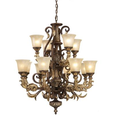 Elk Lighting 2165/8+4 Regency - Twelve Light Chandelier