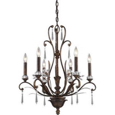 Elk Lighting 2183/6 Emilion - Six Light Chandelier