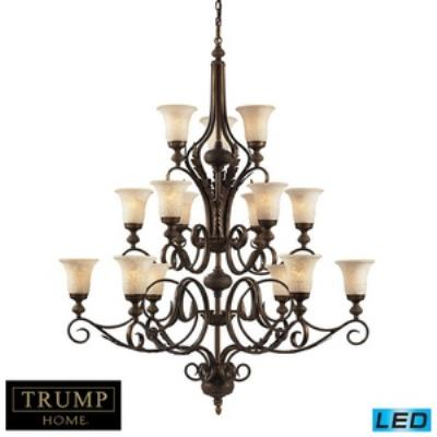 Elk Lighting 2481/6+6+3-LED Briarcliff - Fifteen Light Chandelier