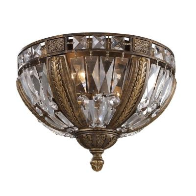 Elk Lighting 2493/4 Millwood - Four Light Flush Mount