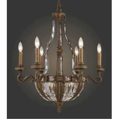 Elk Lighting 2496/6+4 Millwood - Ten Light Chandelier