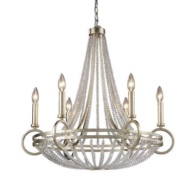 Elk Lighting 31014/6 New York - Six Light Chandelier