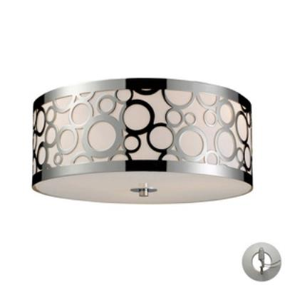 Elk Lighting 31024/3-LA Retrovia - Three Light Flush Mount