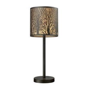 Woodland Sunrise - One Light Portable Table Lamp