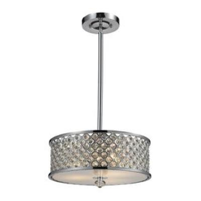 Elk Lighting 31101/3 Genevieve - Three Light Semi-Flush Mount