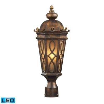Elk Lighting 42004/2-LED Burlington Junction - Two Light Post Mount