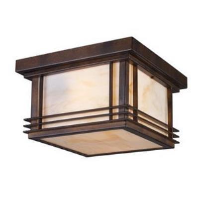Elk Lighting 42106/2 Blackwell - Two Light Outdoor Flush Mount