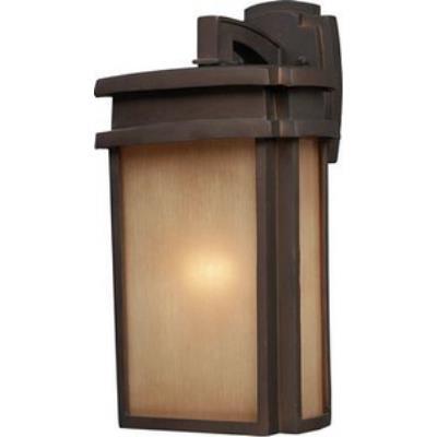 Elk Lighting 42141/1 Sedona - One Light Outdoor Wall Sconce