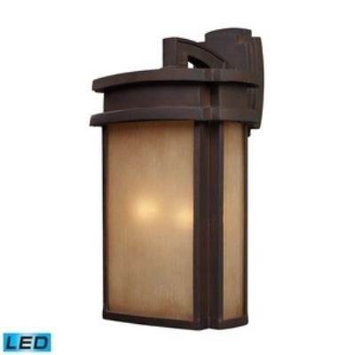 Elk Lighting 42142/2-LED Sedona - Two Light Outdoor Wall Sconce