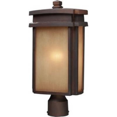 Elk Lighting 42145/1 Sedona - One Light Outdoor Post Mount