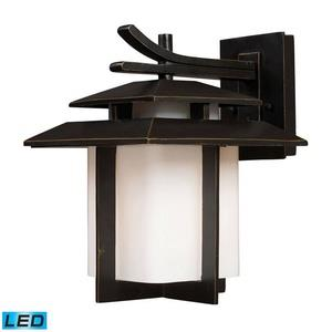 Kanso - One Light Outdoor Wall Sconce