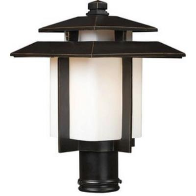 Elk Lighting 42173/1 Kanso - One Light Outdoor Pier Mount