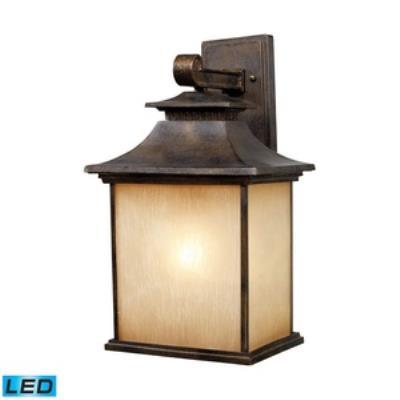 Elk Lighting 42182/1-LED San Gabriel - One Light Outdoor Wall Sconce