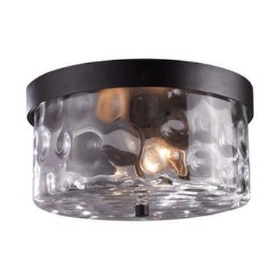 Elk Lighting 42253/2 Grand Aisle - Two Light Outdoor Flush Mount