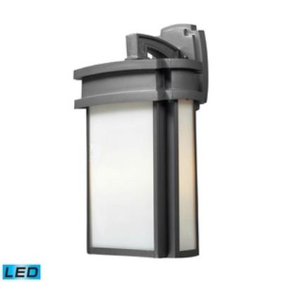 Elk Lighting 42342/2-LED Sedona - Two Light Outdoor Wall Sconce