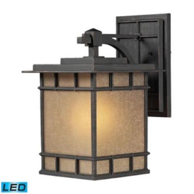 Elk Lighting 45012/1-LED Newlton - One Light Outdoor Wall Sconce