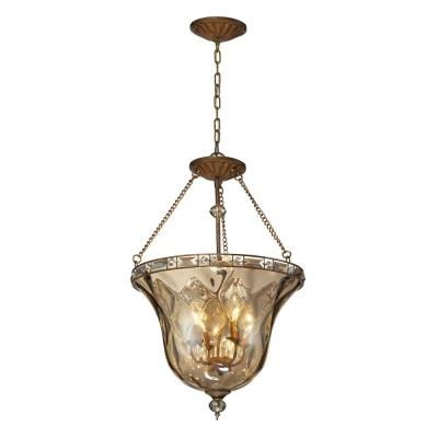 Elk Lighting 46022/4 Cheltham - Four Light Semi-Flush Mount