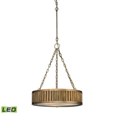 "Elk Lighting 4614/3-LED Linden - 20"" LED Pendant"