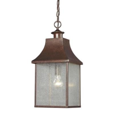 Elk Lighting 47003/1 Town Square - One Light Outdoor Hanging Lantern