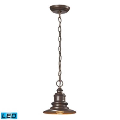 Elk Lighting 47011/1-LED Marina - One Light Outdoor Hanging Lantern