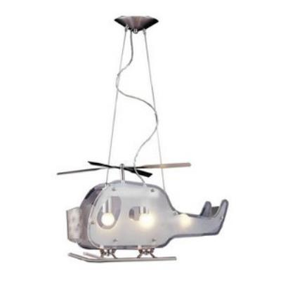 Elk Lighting 5056/3 Novelty - Three Light Helicopter Shaped Pendant