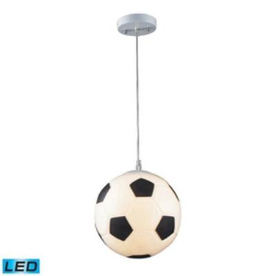 Elk Lighting 5123/1 Novelty - One Light Soccer Ball Pendant