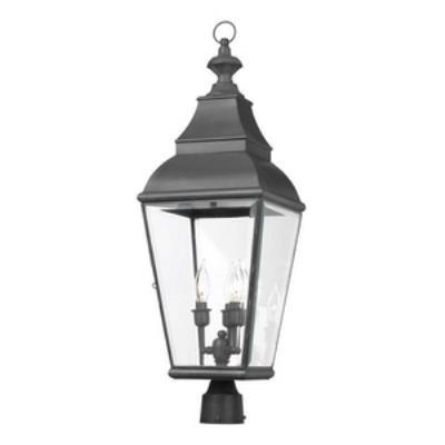 Elk Lighting 5217-C Bristol - Three Light Outdoor Post