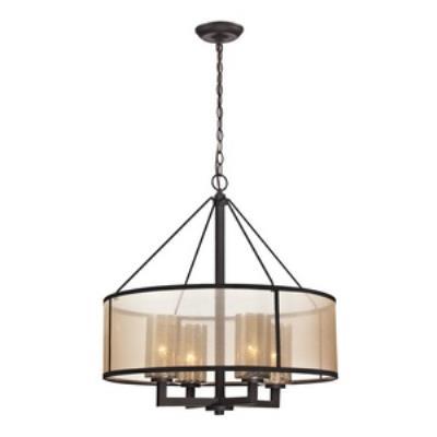 Elk Lighting 57027/4 Diffusion - Four Light Chandelier