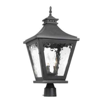 Elk Lighting 5713-C Camden - Three Light Outdoor Post