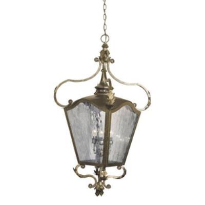 Elk Lighting 5784-CB Acadiana - Four Light Outdoor Pendant