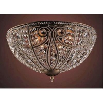 Elk Lighting 5963/6 Elizabethan - Six Light Flush Mount