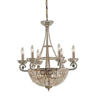Elk Lighting 5967/6+4 Elizabethan - Ten Light Chandelier